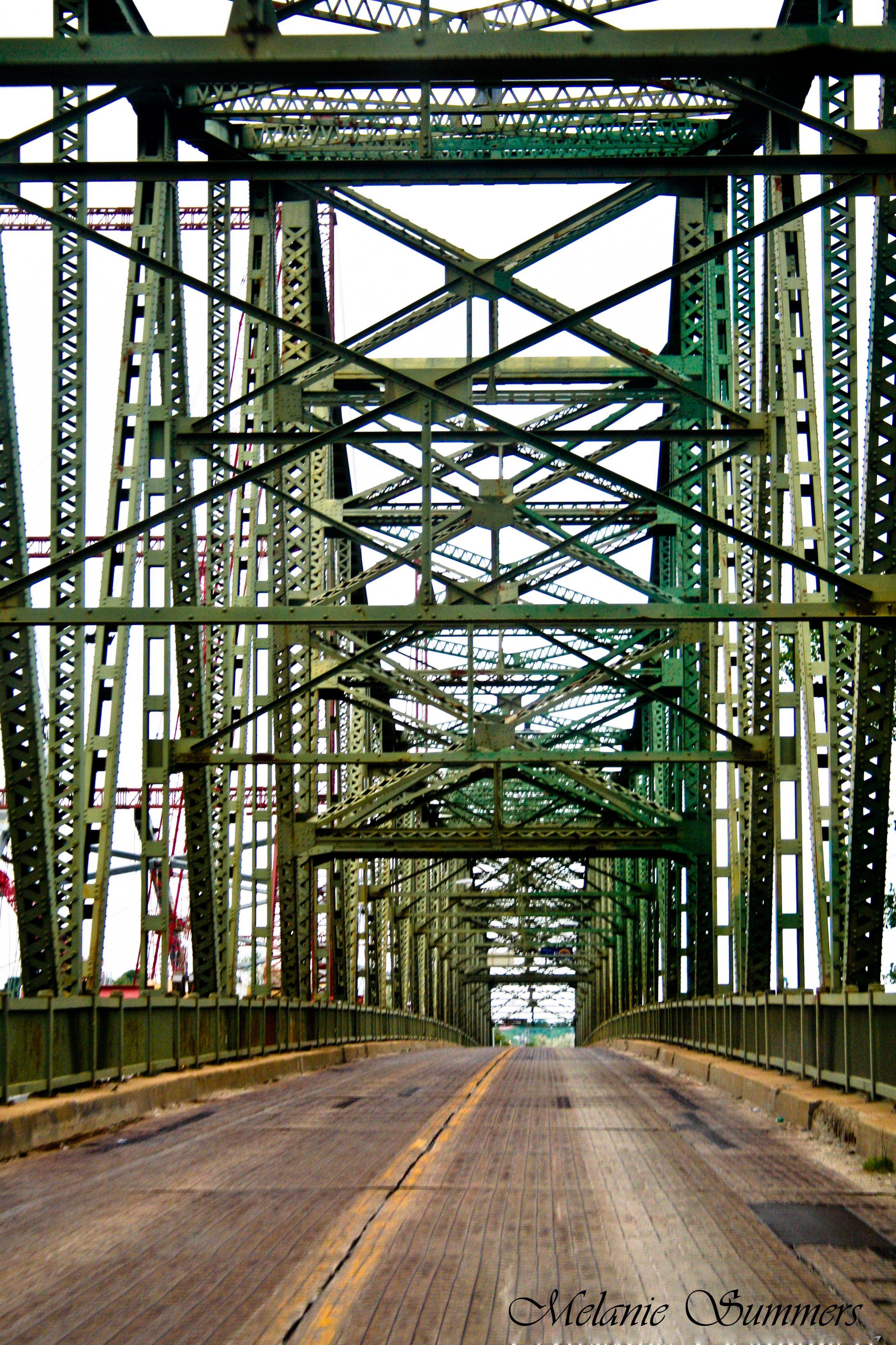 Bridge From Missouri To Atchison Kansas Grandpa Used To Drive Us