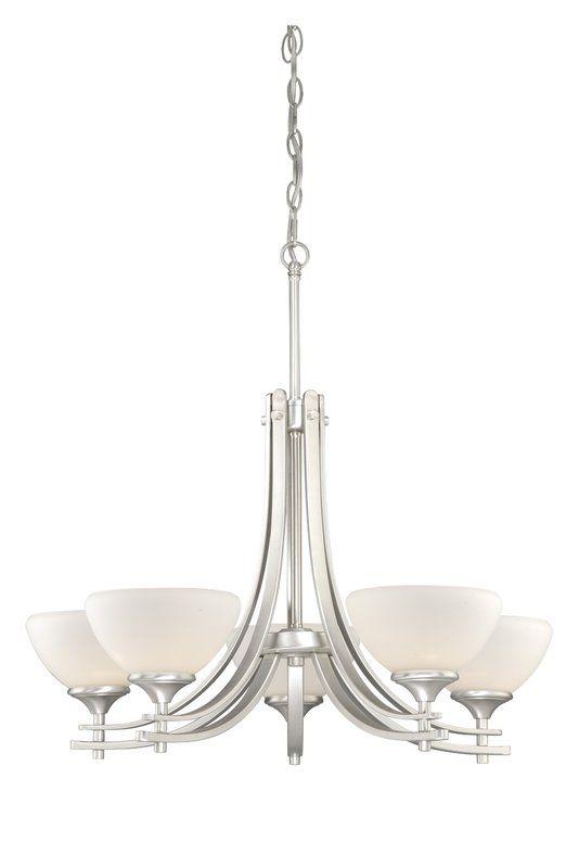 Sabrina 5-Light Shaded Chandelier | Joss & Main | Home Ideas ...