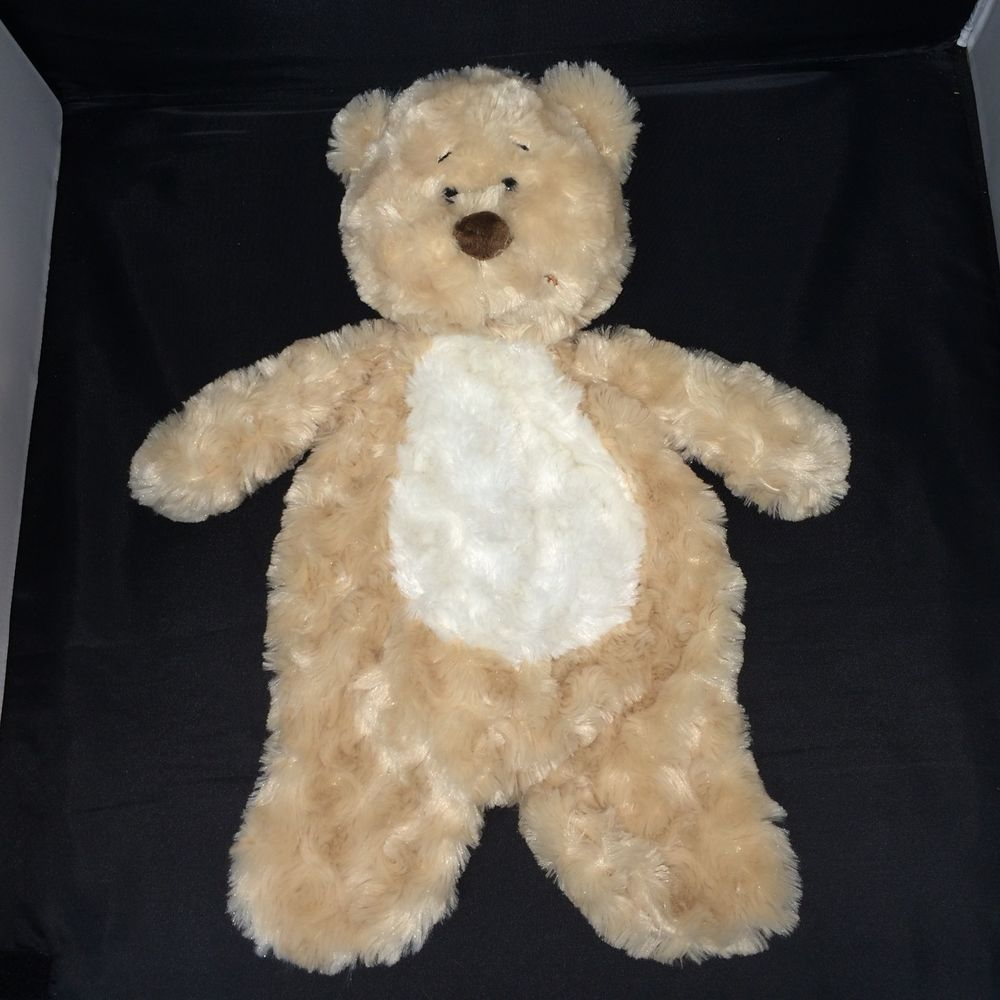 92defce4682 Ganz Flat A Pat Bear Baby Security Blanket 18