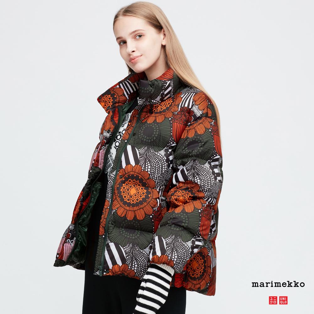 Women Marimekko Ultra Light Down Cocoon Jacket Cocoon