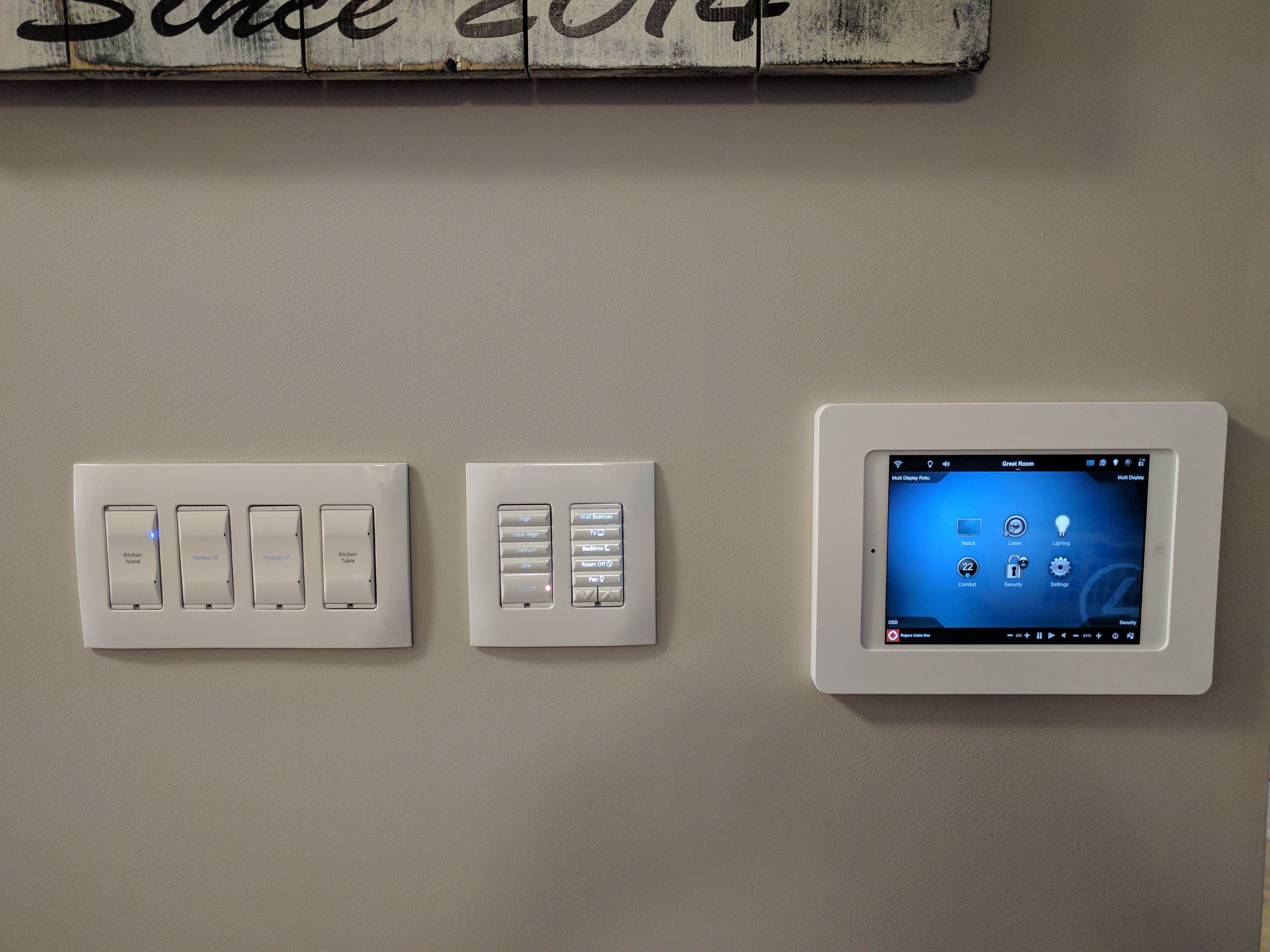 Want To Use A Tablet As A Home Controller Check Out Our Vidamount Which Allows You To Mount A Tablet For Smarthom Ipad Wall Mount Home Automation Smart Home