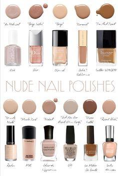 best neutral nail polish for black women - Google Search