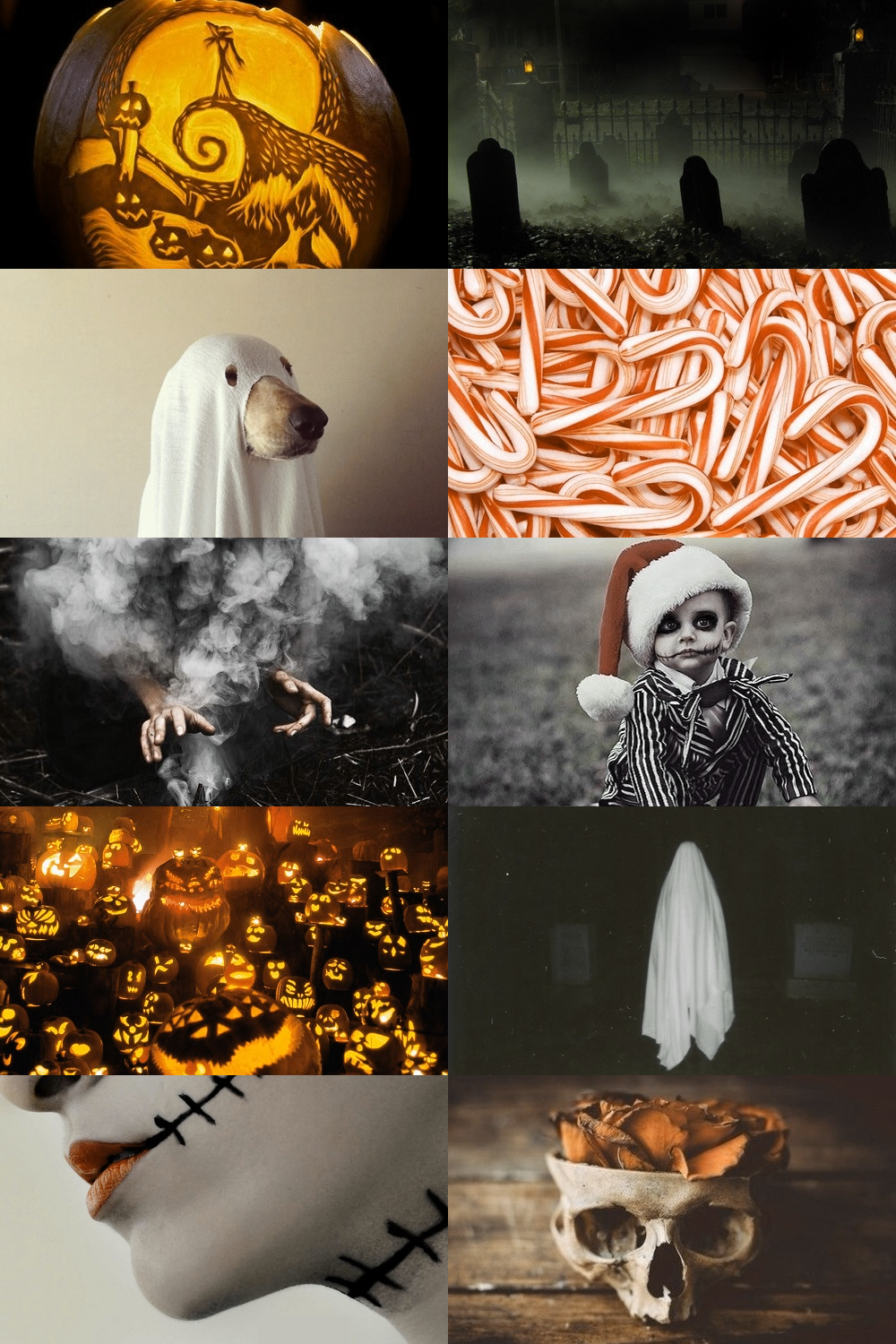 The Nightmare Before Christmas Aesthetic ; requested by anon | natal ...