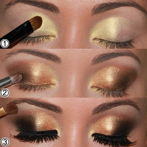 Photo of Gold and Brown Eyes
