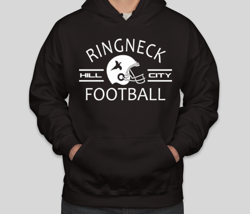 Ringneck Hill City Football Unisex Hoodies (With images