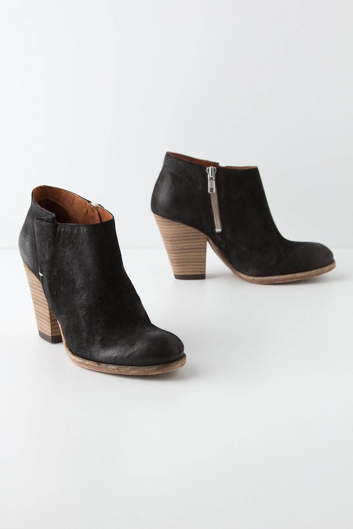 Fluted Booties