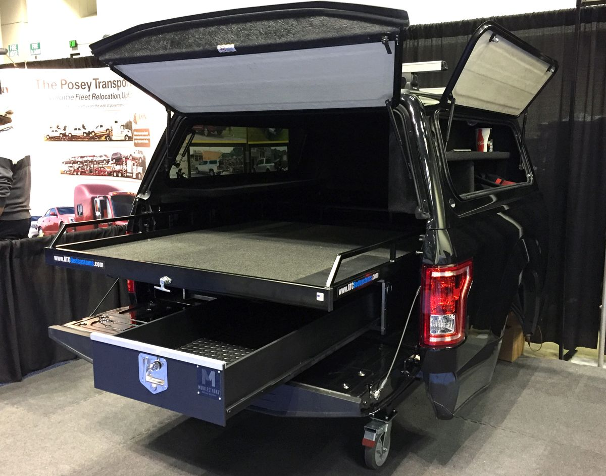 Truck Bed Store 'n Pull Systems Storage Drawers & Full