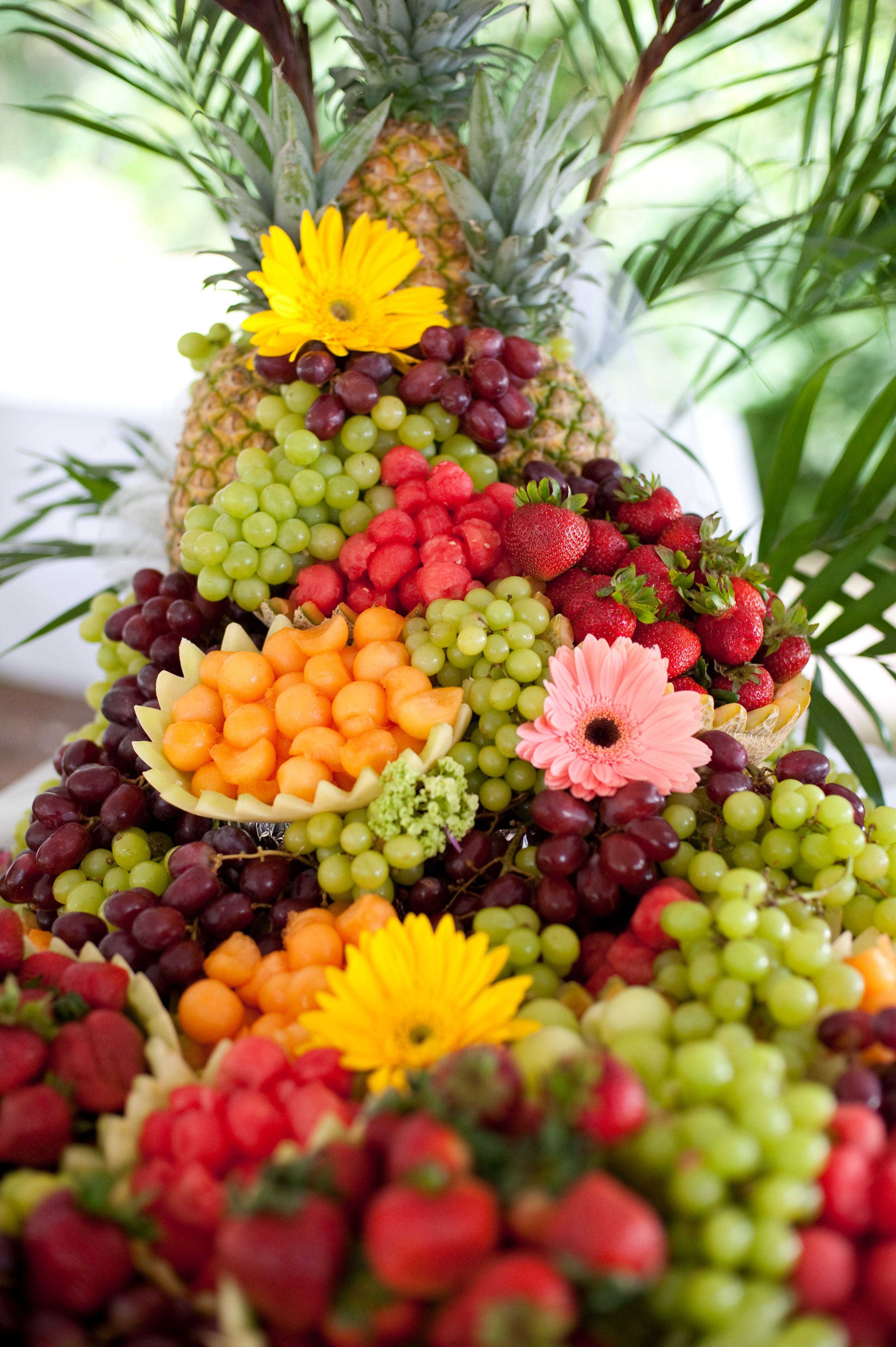 Amazing fruit cascade | My Wedding | Pinterest | Fruit displays ...