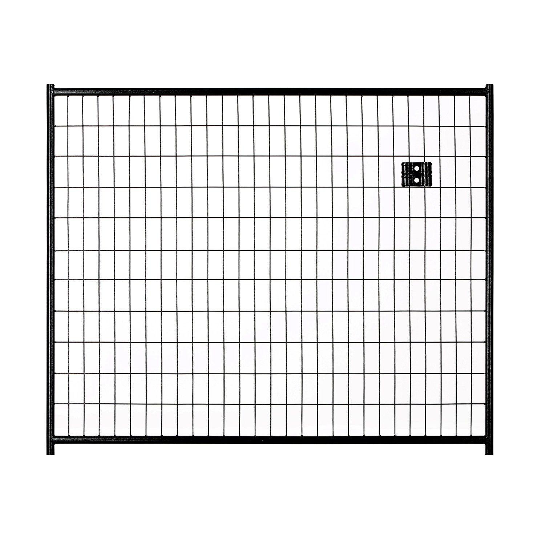 4\'H x 5\'W Black Welded Wire Panel | outside stuff | Pinterest