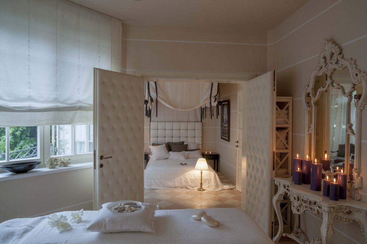 Romantiksuite luxuszimmer weißer raum designeinrichtung