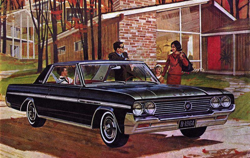 1964 Buick Skylark Sport Coupe American dream, Car ads
