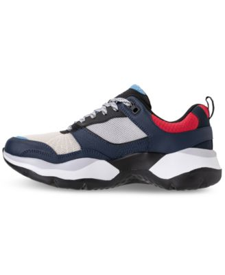 297711e303f9 Skechers Women s One Vibe Ultra-Karma Walking Sneakers from Finish Line -  NAVY RED 8.5