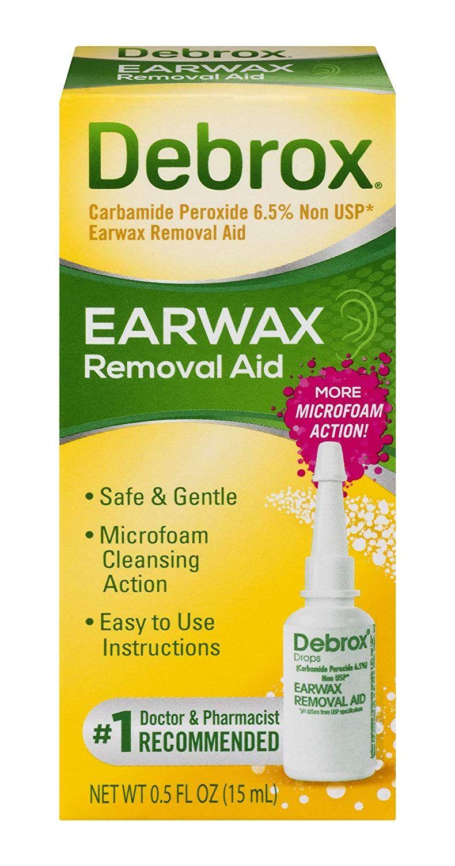 Debrox earwax removal drops 05 fluid ounce amazonca