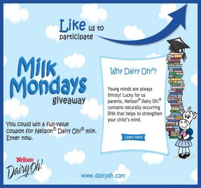 Dairyoh Contest Win A Free Neilson Dairyoh Milk Coupon With Images Milk Coupons Giveaway Contest Contest Winning