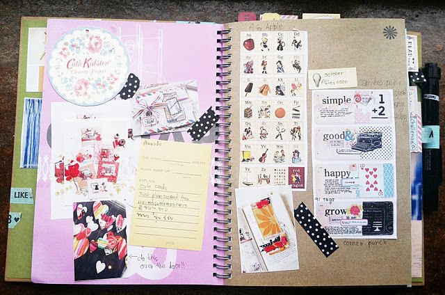 Smash Book Crafty Smashbook Pinterest Travel Journal