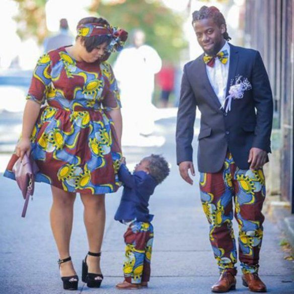 Ankara Fashion: Matching African Outfits For Family | African ...