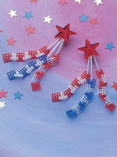 Plastic Canvas Special Occasions Gifts Star Earrings