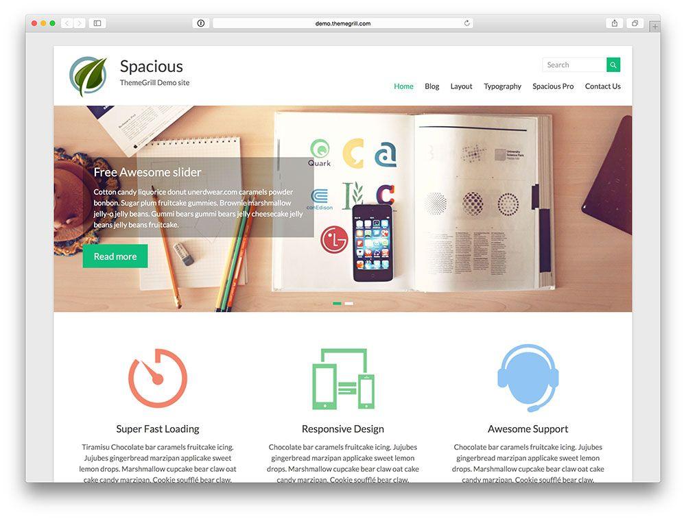 18-spacious-Templates-Gratuitos-Responsive-para-WordPress ...