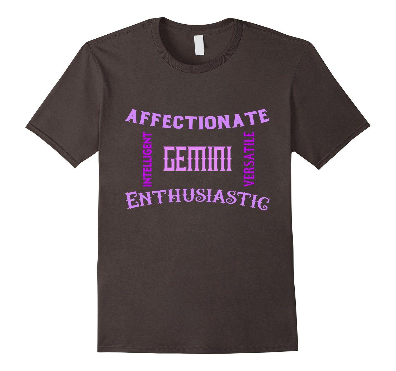 a7561ca0f603f Amazon.com: Gemini T shirts Horoscope zodiac signs daily Unisex ...