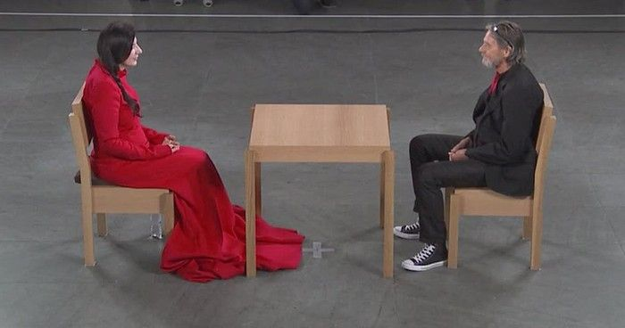 Marina Abramovic, an artist, took on a live art performance that was unlike any other I've ever seen. [video] Such a beautiful gesture of humanity. Enjoy!