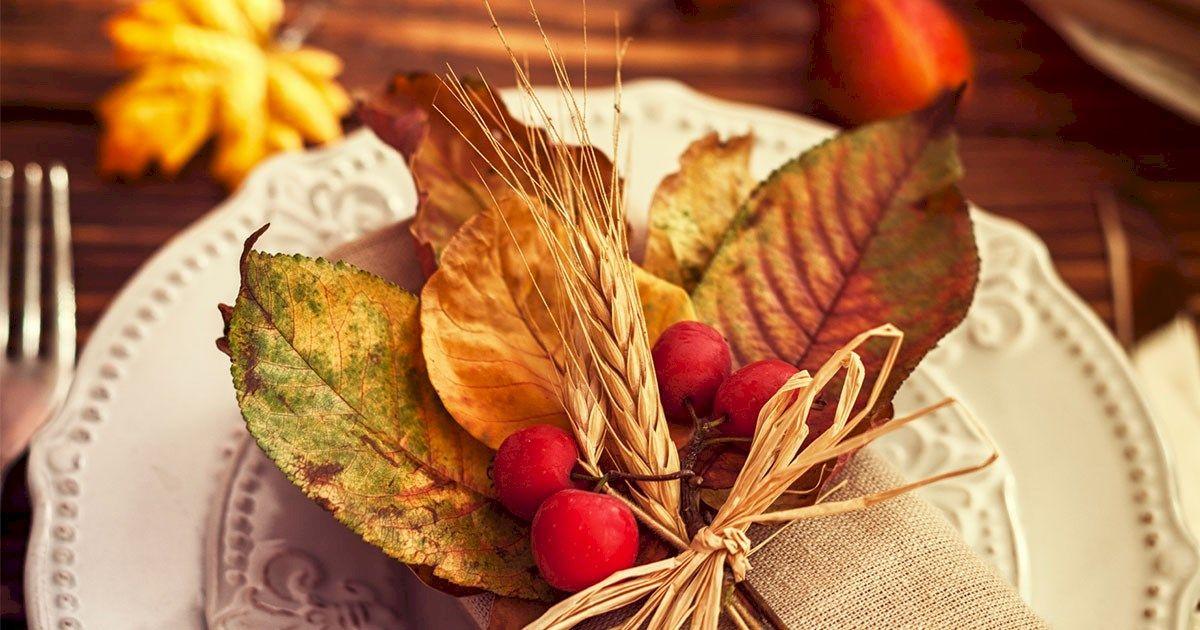 Versier je huis met de warme kleuren van de herfst deze