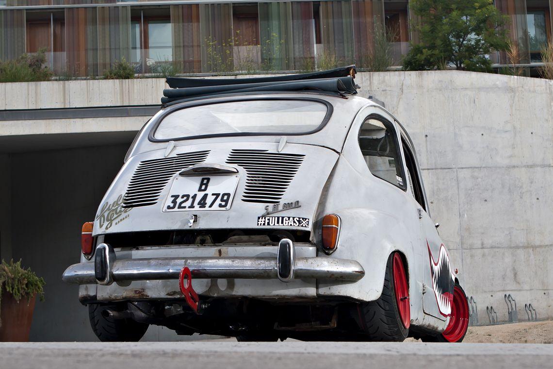 Ortodoxos Del Automovilismo Pasen De Largo Este Post No Es Para Vosotros Os Podria Provocar Pesadillas La Vision De Un Seat 600 D D Fiat 600 Autos Fiat 500