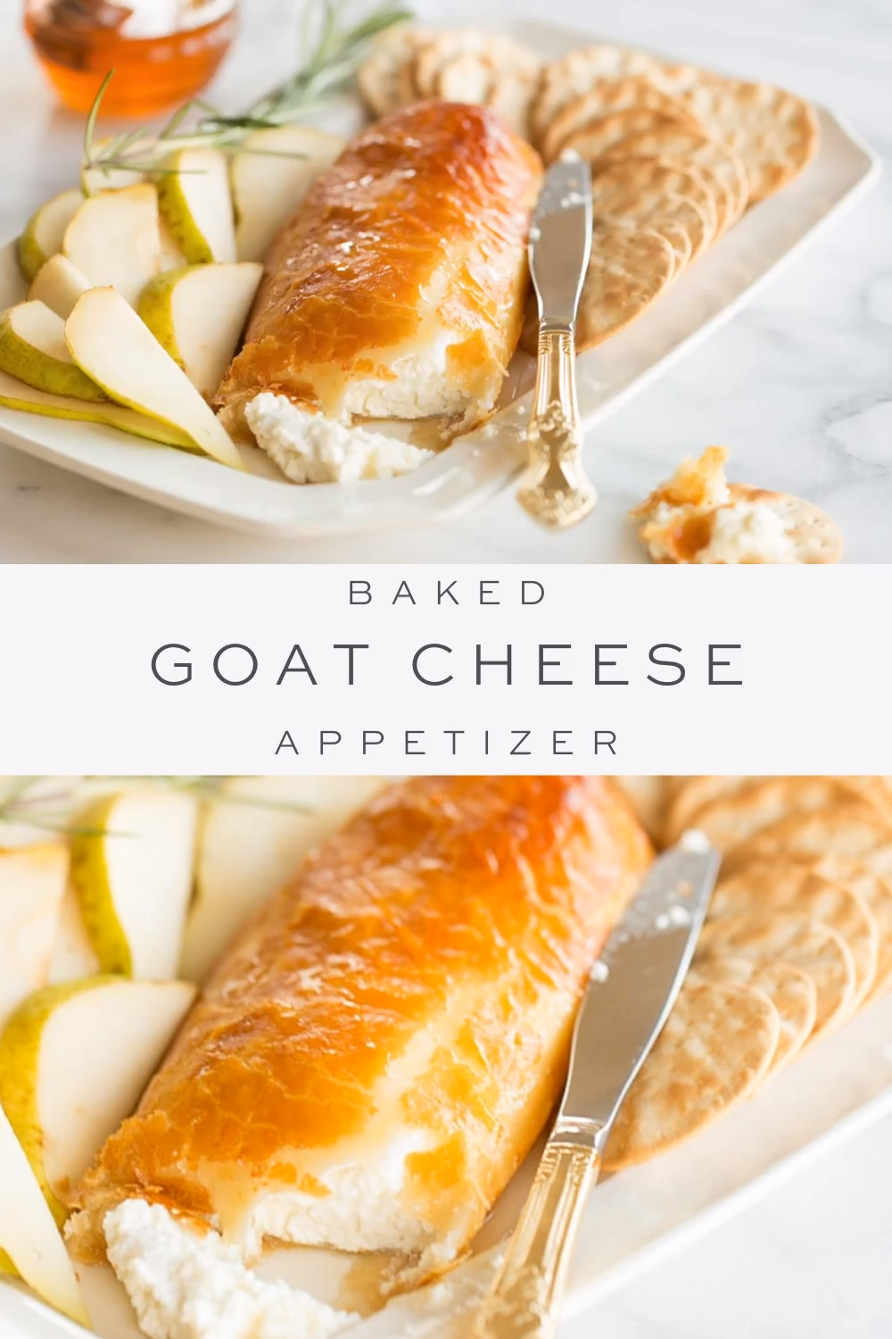 Easy Baked Goat Cheese and Honey Appetizer -   23 thanksgiving recipes videos appetizers desserts ideas
