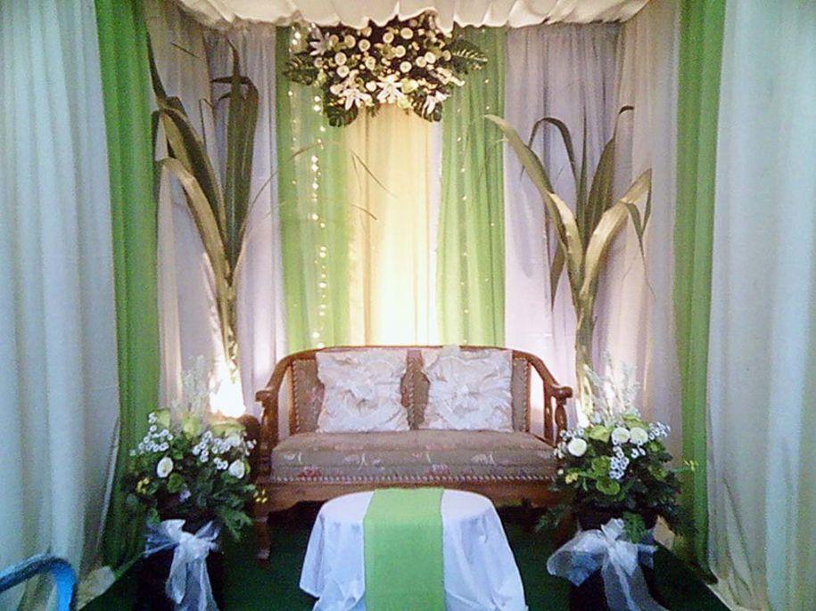 Desain Pernikahan Pelaminan Minimalis Dekorasi Pernikahan