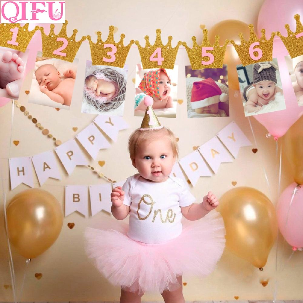 Photo of 1st Birthday Party Decorations- Baby Shower Banners – Kidz Plug