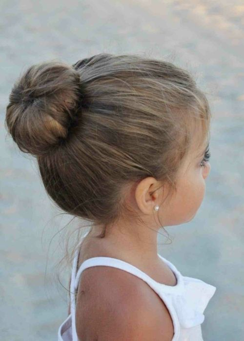 Coiffure mariage bebe fille