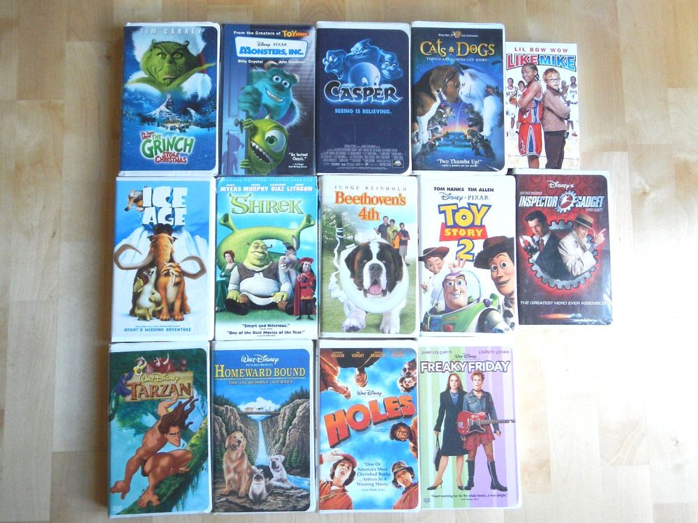 Lot Of 14 Walt Disney Vhs Movies Masterpiece Collection Disney