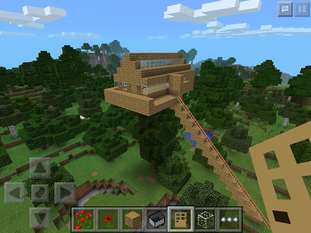 how to build a awesome house in minecraft pe
