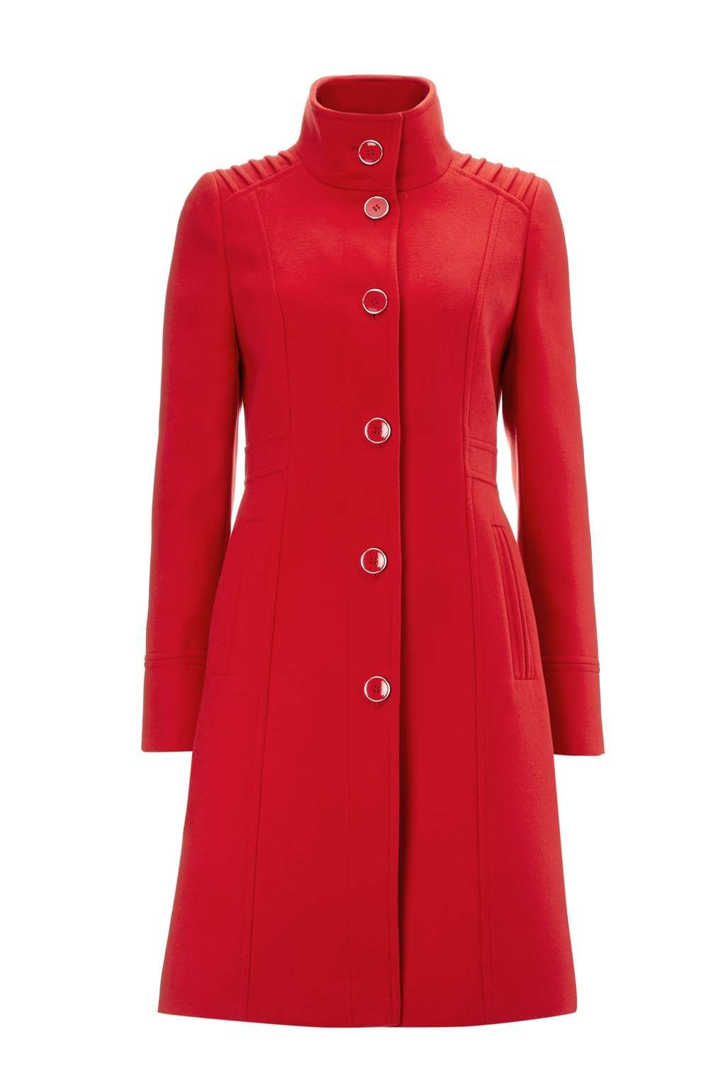 Red Funnel Coat - Coats - Clothing | Coat, Red funnel ...