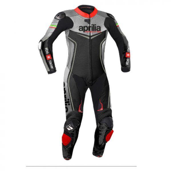 APRILIA Motorcycle Racing Biker Leather Suit Motorbike Leather Jacket Trouser
