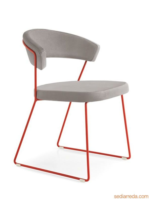 Esszimmerstühle Calligaris Cs1022-ev New York | Stuhl Calligaris New York, Gestell In
