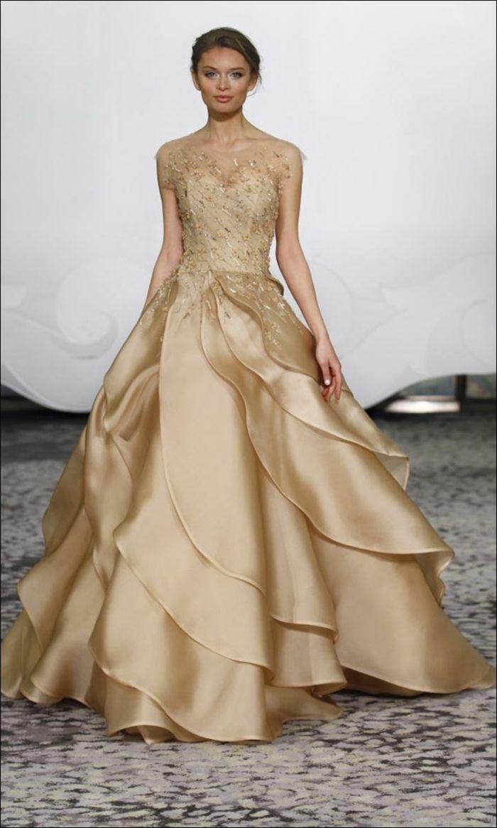 ▷ 1001 + images pour la robe dorée de vos