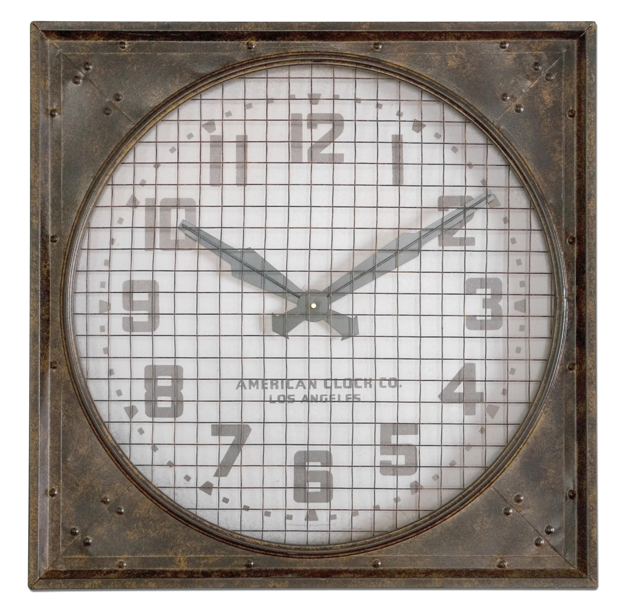 Howard Miller Magdalen Wrought Iron Oversized Gallery Wall Clock In 2020 Best Wall Clocks Gallery Wall Clock Oversized Wall Clock