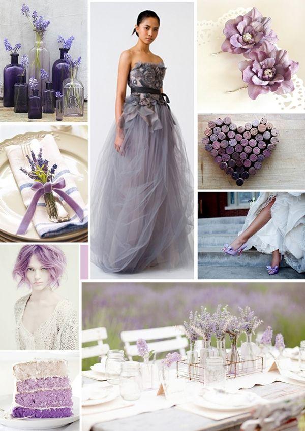 7fd1f8ccb6 Levendulás esküvői dekorációk | Wedding Design Blog | Wedding