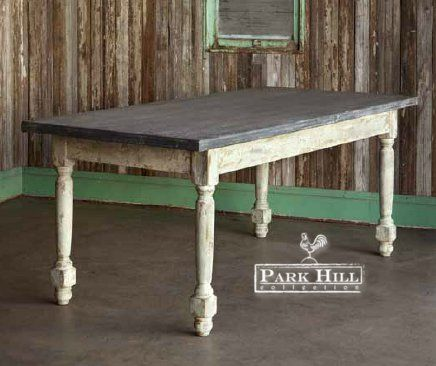 Park Hill Collection Painted Dance Hall Table