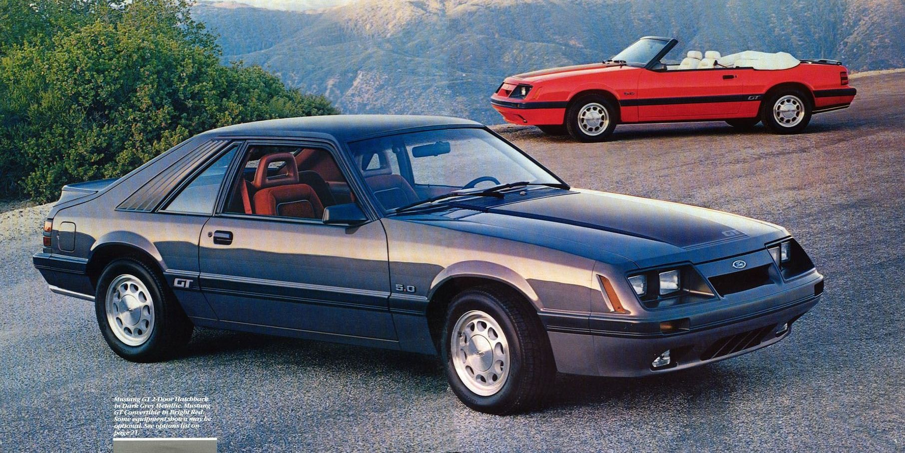 86 mustang gt pics root ford mustang 1986 ford mustang 1986 ford mustang brochure prev