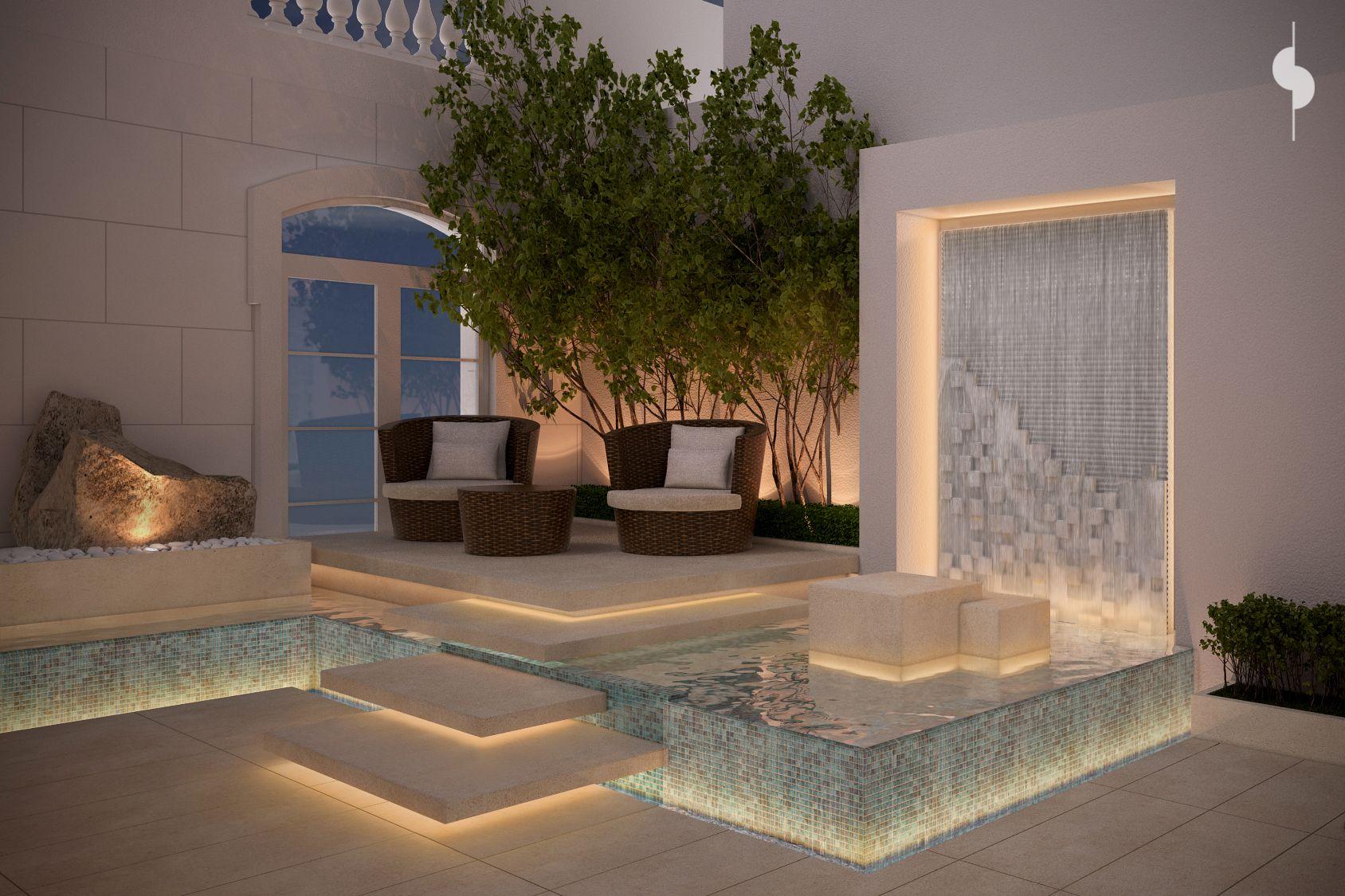 roof garden private villa sarah sadeq architects sarah sadeq architectes pinterest. Black Bedroom Furniture Sets. Home Design Ideas