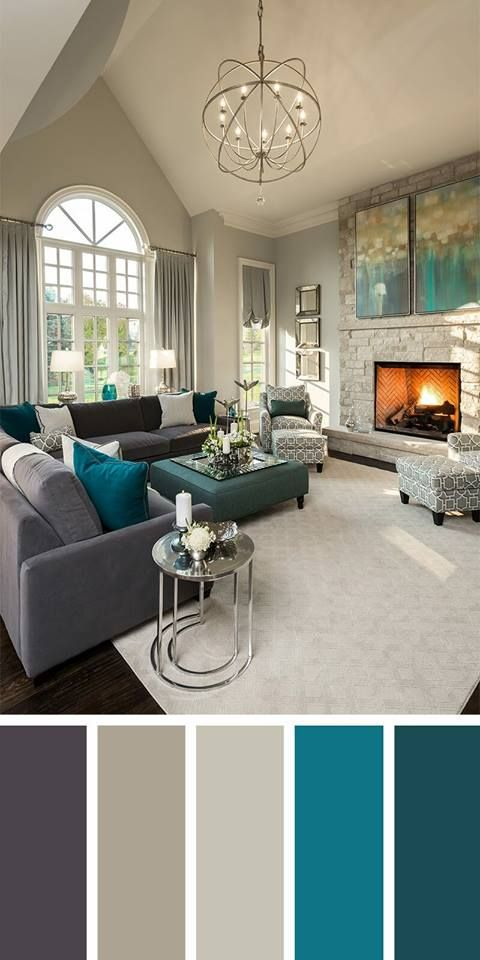 Perfect Colour Scheme For A Balanced Interior Design Trendy Living Rooms Living Room Color Schemes Family Living Rooms