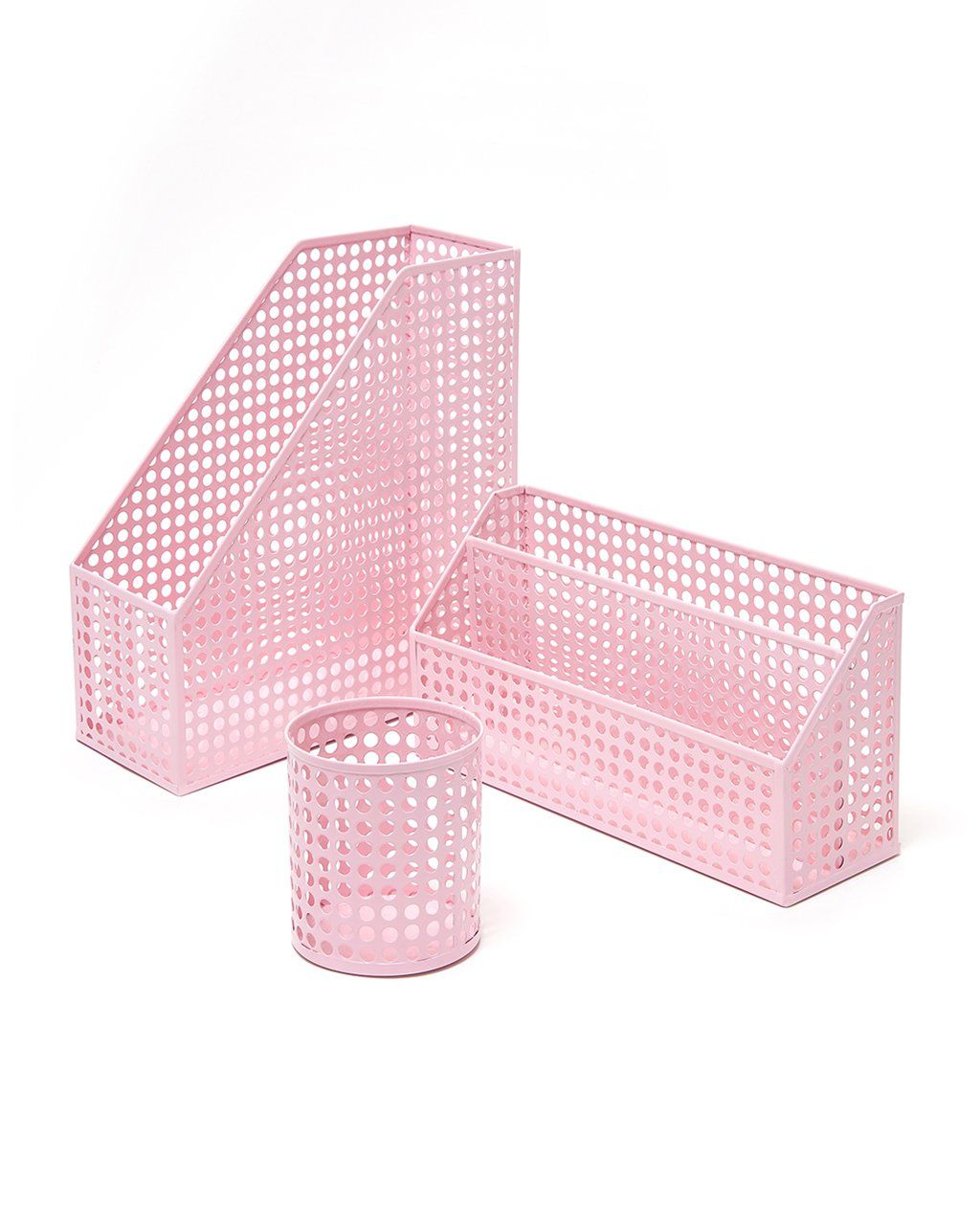 Pink Desk Accessories Bundle From Ban.do