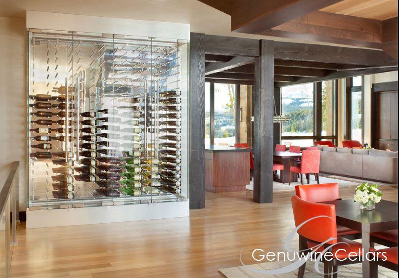 Glass Enclosed Wine Cellars Genuwine Cellars Wine Room Glass