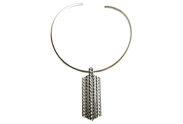 1960s David-Andersen Sterling Necklace on OneKingsLane.com