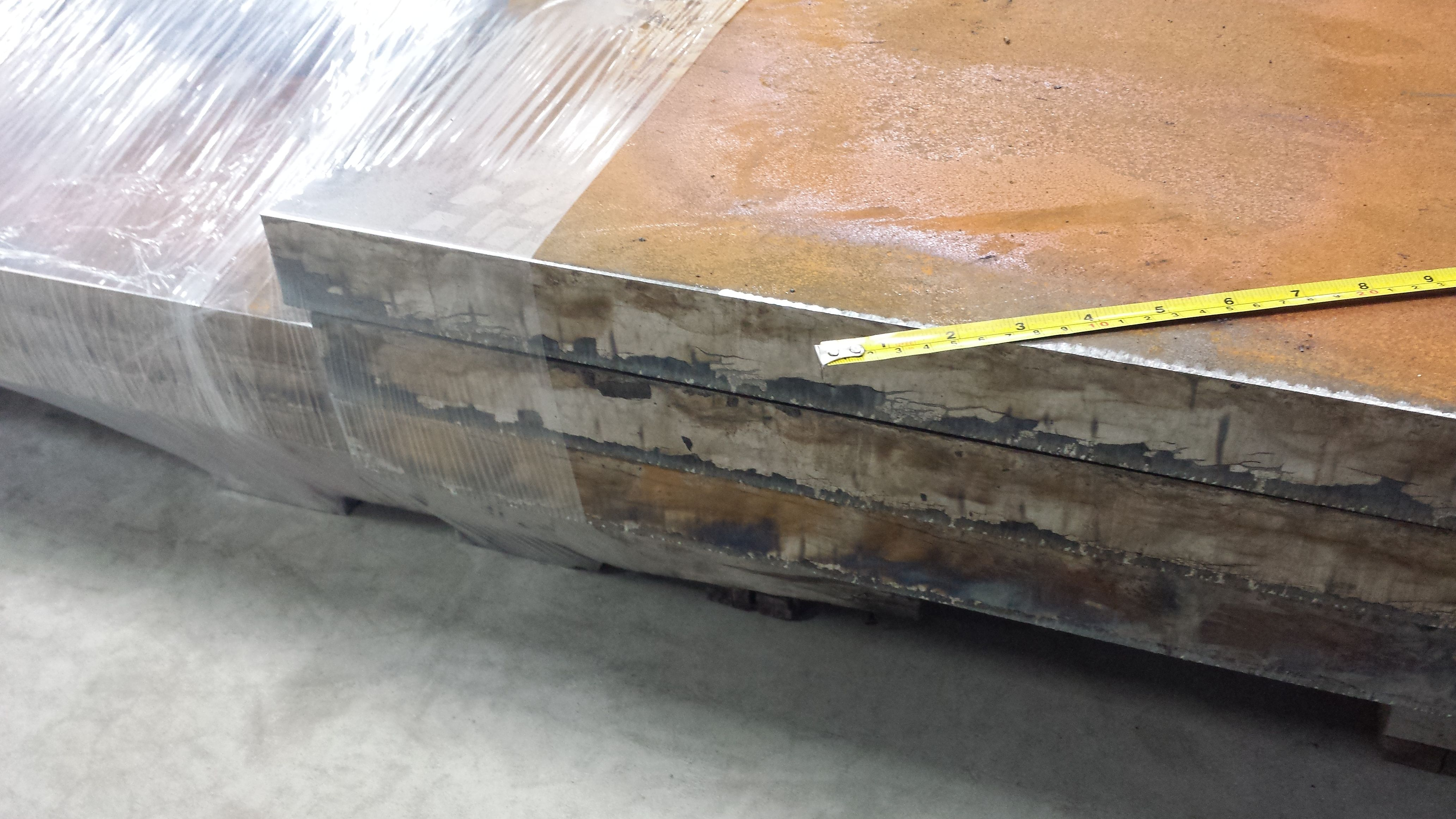 2 Inch Thick Steel Plate No Problem Here At Baileigh Industrial We Laugh At Such Applications When Most Companies In The Indu Steel Plate Industrial Steel