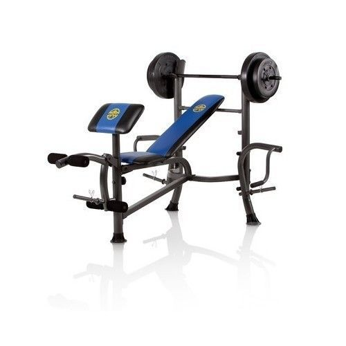 Olympic Weight Bench Set Press Butterfly Flat Gym Incline Fitness Golds Exercise Weight Set Weight Bench Set Weight Benches