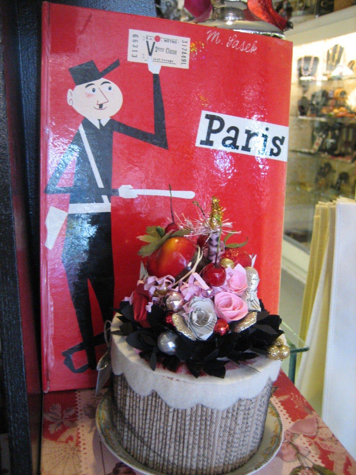 Book Cake Art!~    Vignettes Antiques