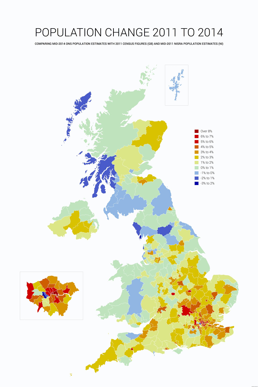 UK potion change 2011-2014 by alasdairgunn #map #uk #potion ... on