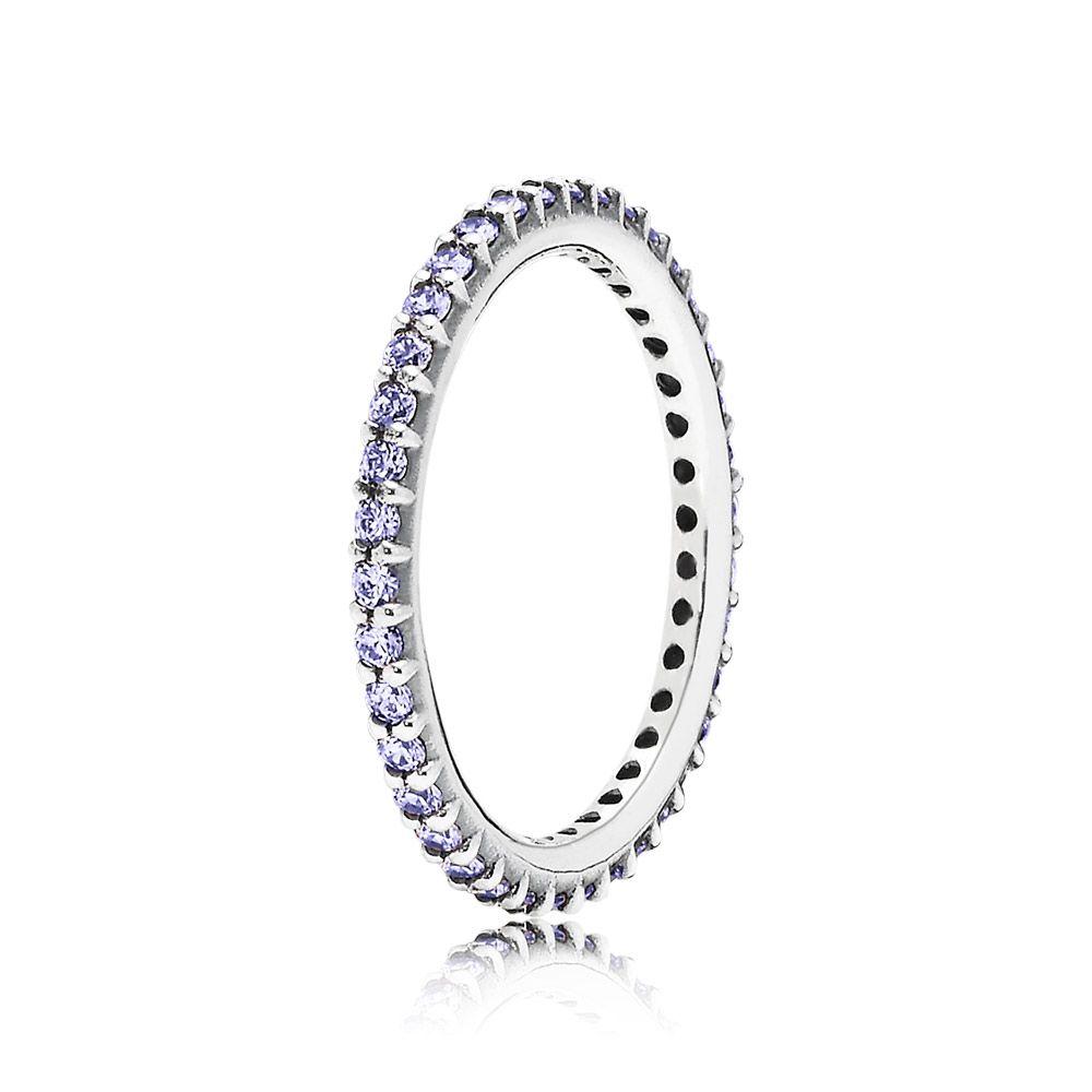 anillos de pandora con circonita